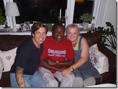 Ray, Charlie and Hanne
