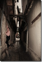 Ruelle des Chats (Alley of the Cats) in Troyes