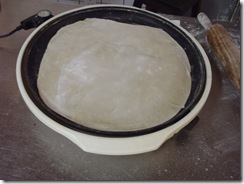 Cooking the dough