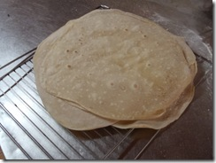 Finished cook dough