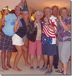 Celebrating missed holidays with Grams and Gramps- 4th of July to New Years!