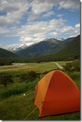 Wild Camping in 2007- New Zealand.